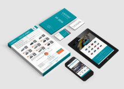 LEASIO corporate identity vizuální styl