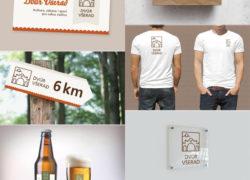 corporate identity vizuální styl Dvůr Všerad