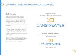 design manuál corporate identity vizualni identita CamStreamer