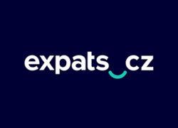 expats.cz logo design