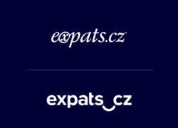 expats.cz logo design - stare a nove logo