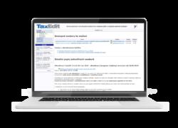 Starý web Taxedit