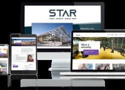 Webová prezentace Star