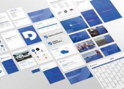Digiteq Automotive vizuální identita